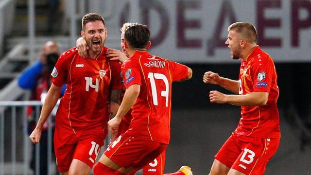 Euro 2020 Qualification Play off - North Macedonia v Kosovo