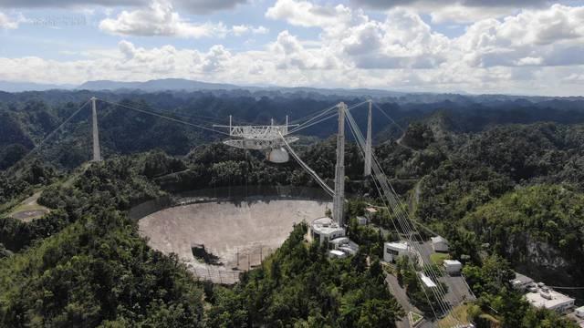 'Lovio' je i izvanzemaljce: Veliki teleskop u Portoriku se raspao