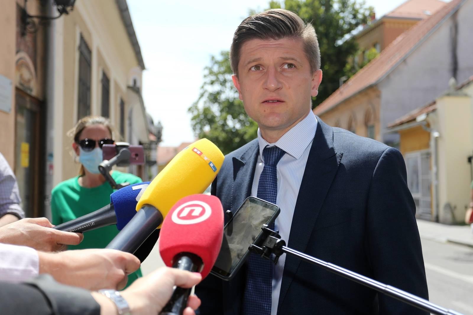 Zagreb: Dolazak koalicijskih partnera na sastanak s premijerom