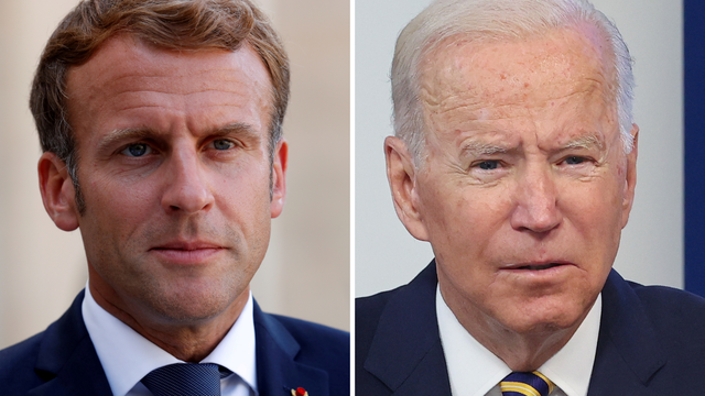 Macron i Biden obećali da će vratiti povjerenje između  Amerike i Francuske nakon krize