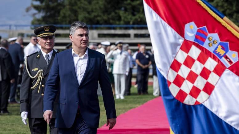 Milanović o Dodikovoj prijetnji: 'Neozbiljno, kao da ja prijetim Sloveniji nosačem aviona'