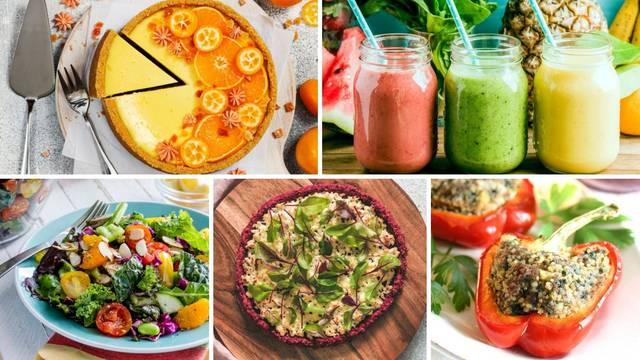 Prednosti i mane jedenja sirove hrane: Savjeti i odlični recepti - glavna jela, pizza, cheesecake...
