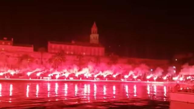 Predivne slike sa splitske Rive: Proslava 30. rođendana 'Pauka'