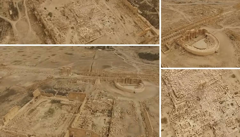 ISIL je gotovo razorio Palmiru: Evo kako sada izgleda  iz zraka