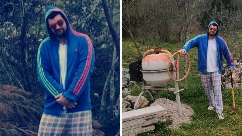 Pave Ruić  iz Postolar Trippera: 'Na Zavodu sam, cijepam drva, sadim biž, a snimio sam i spot!'