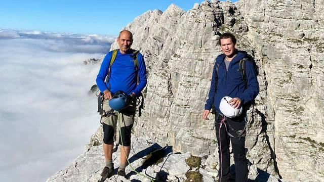 Druženje nakon sastanka: Kurz i Janša pobjegli u planine