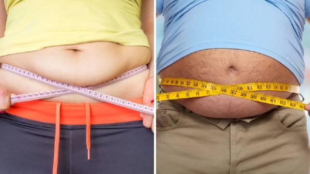 Ženski vs. muški trbuh: Zašto momci često imaju trbuhe nalik ogromnim balonima, a žene ne?