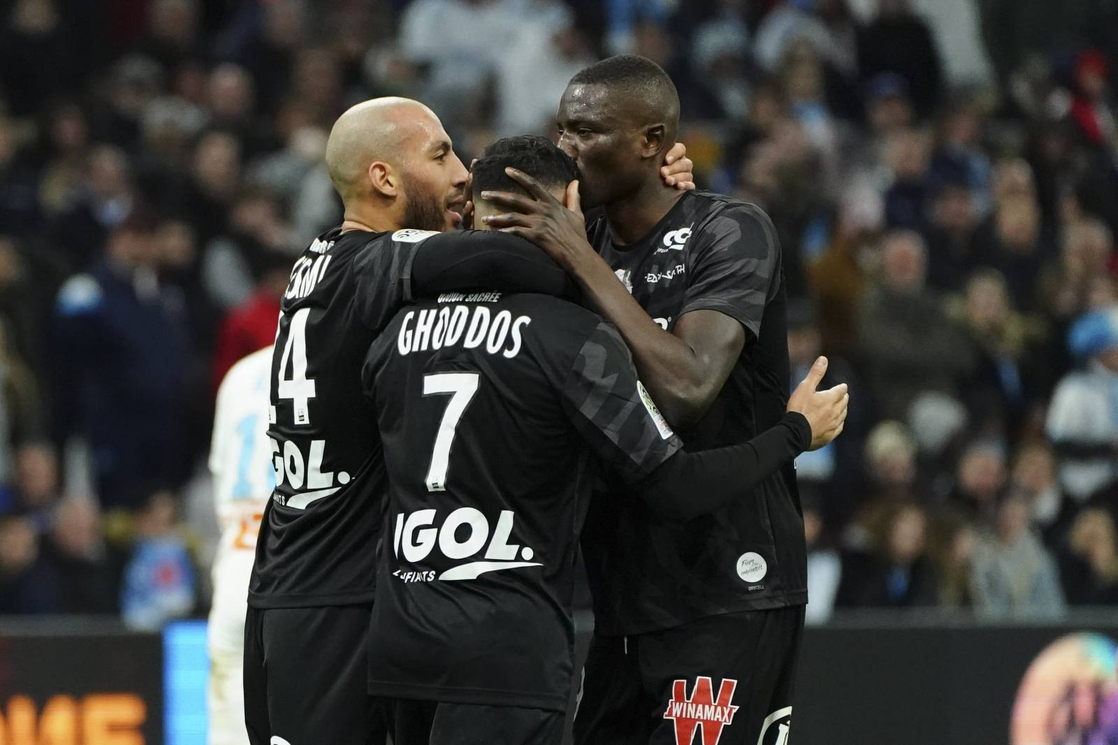 Match de championnat de Ligue 1 Conforama opposant l'Olympique de Marseille (OM) au Amiens Sporting Club (ASC) au stade vélofrome à Marseille