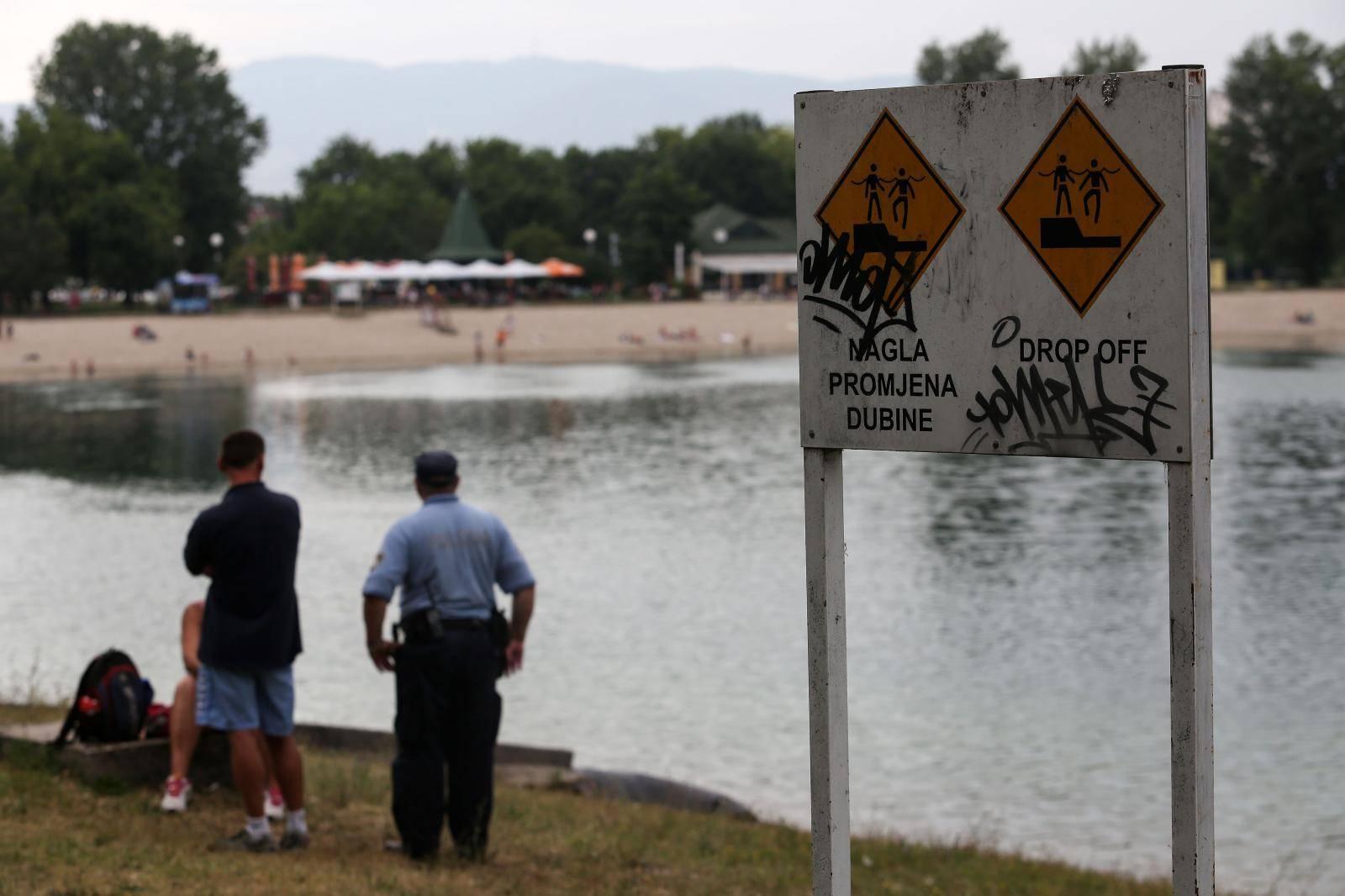 Zagreb: Na jezeru Jarun utopio se kupač