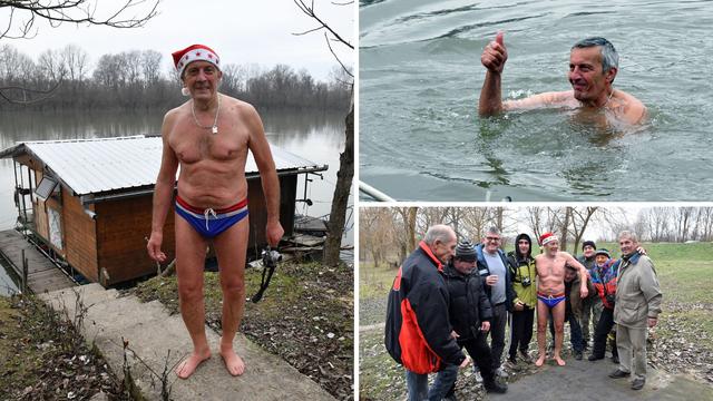 'Bilo je ledeno, ali nije  strašno, dobro mi to dođe za krvotok'