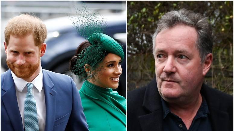 Piers Morgan ponovno napao Harryja i Meghan: 'Razmažena derišta koja zlostavljaju obitelj'