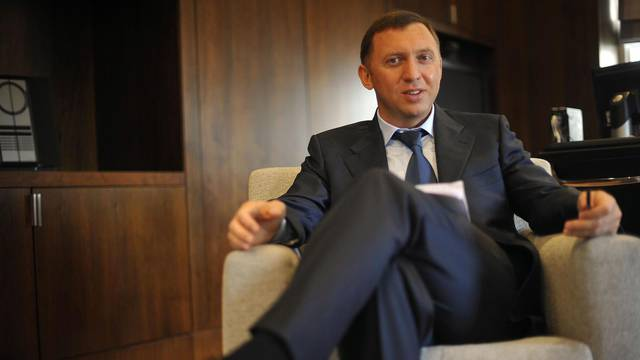 Oleg Vladimirovich Deripaska who is the Russian Chief executive officer of Basic Element company