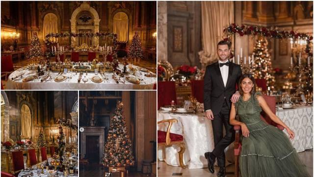 Palača Blenheim oduševljava goste blagdanskim dekorom