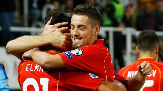 Euro 2020 Qualifier - Group G - North Macedonia v Slovenia