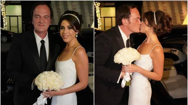 Tarantino 'pokleknuo': Oženio je 20 godina mlađu manekenku