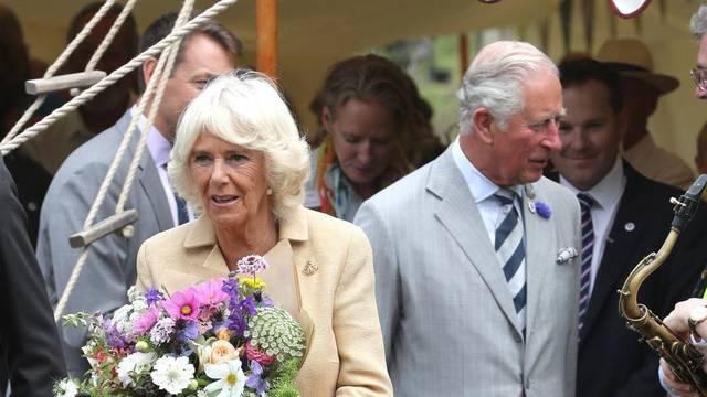 Royal visit to Devon