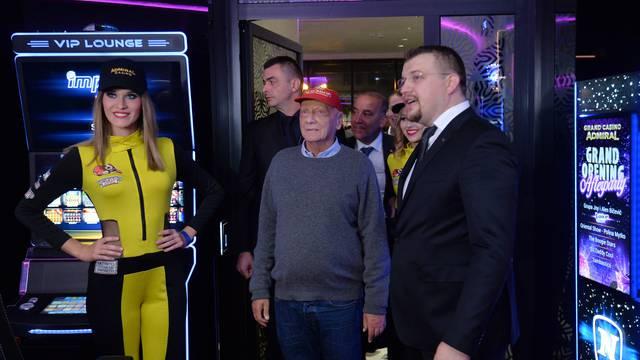 Legendarni Niki Lauda otvorio je najveći casino u Hrvatskoj