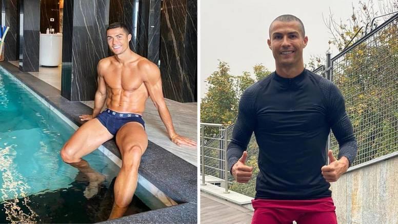 Cristiano Ronaldo promijenio imidž za vrijeme samoizolacije