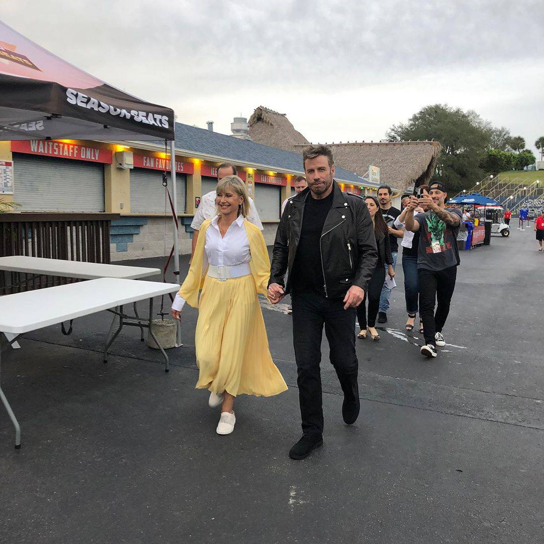 Olivia Newton-John i Travolta opet zajedno nakon Briljantina
