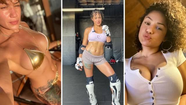 UFC borkinju izbacili iz teretane: Pokazala tange i tresla guzom