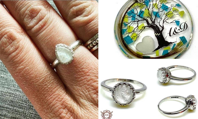 Izrađuje nakit od majčinog mlijeka, posteljice pa  i pepela
