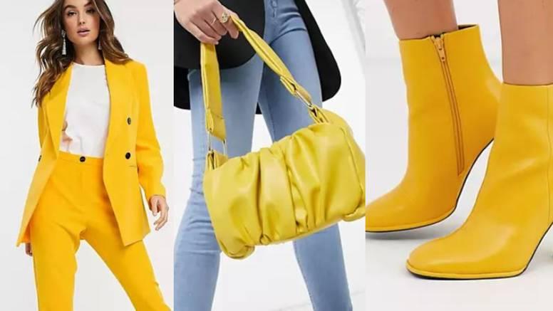 Sunčana roba: Stil u znaku žutih nijansi za novu modnu energiju