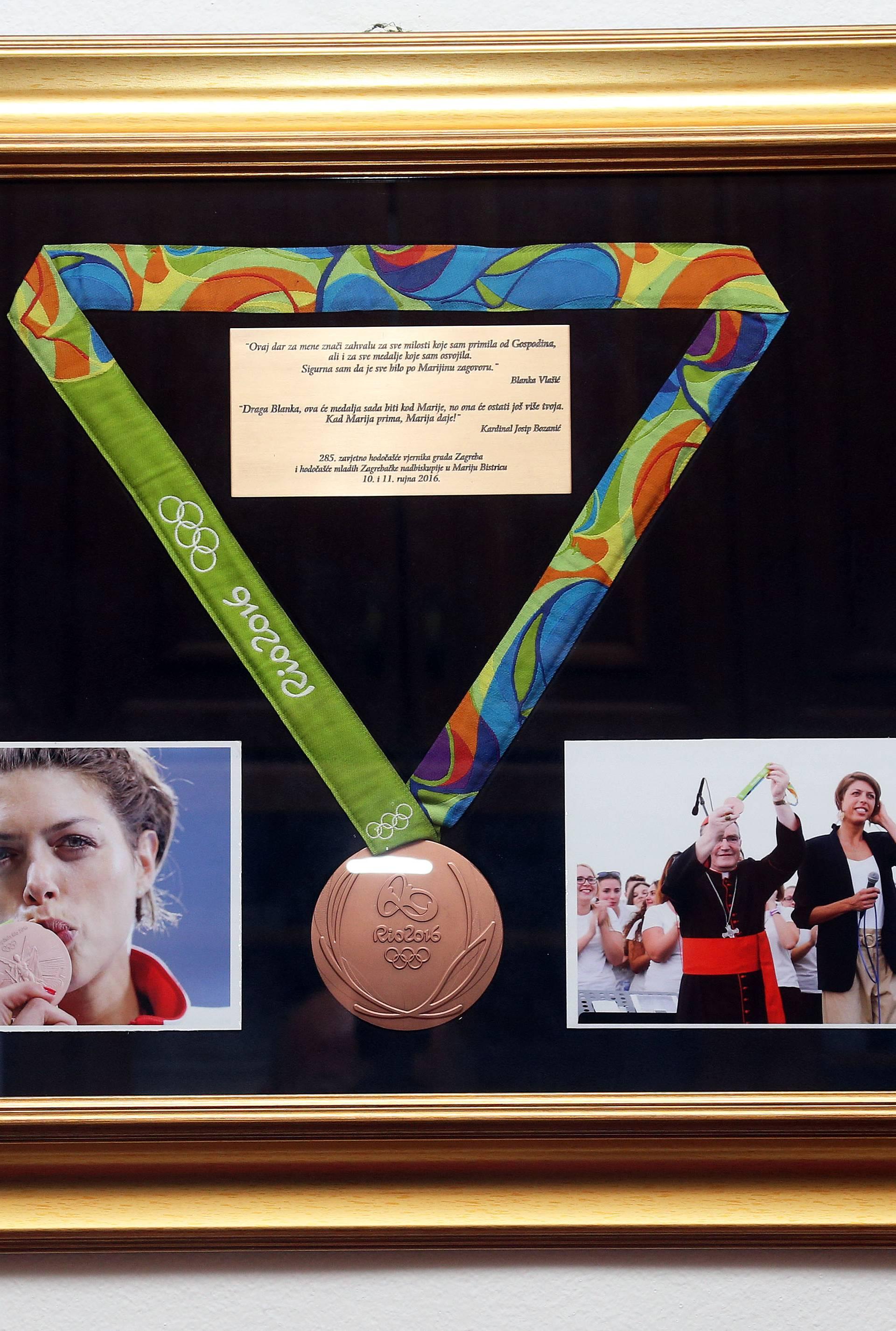 Dar svetištu: Ovdje čuvamo Blankinu olimpijsku medalju...