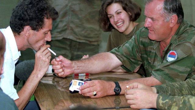 FILE PHOTO: Bosnian Serb wartime general Ratko Mladic