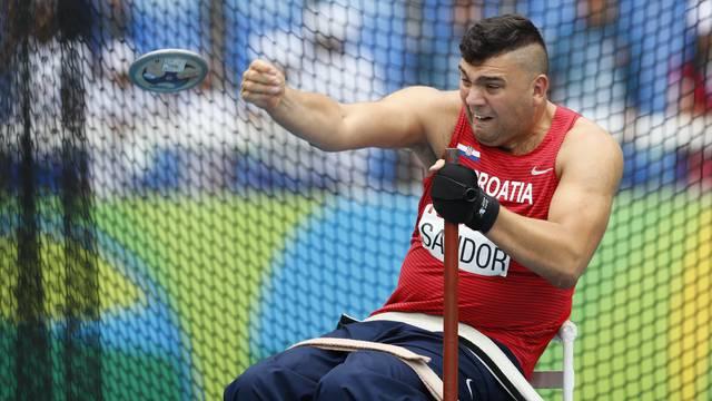 Athletics - Men's Discus Throw - F52