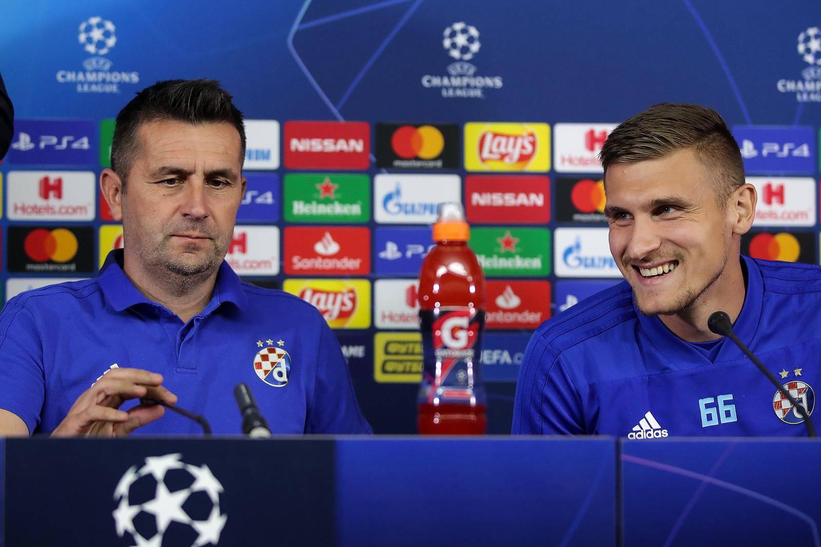 Harkiv: Bjelica i Dilaver na konferenciji za medije uoči utakmice protiv Šahtara