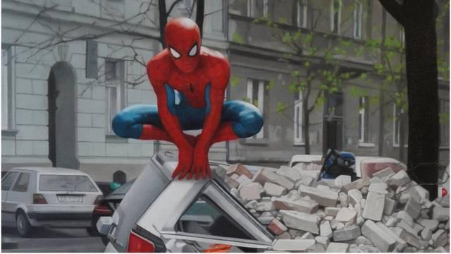 Slika Spidermana u potresu hit je festivala Crtani romani šou