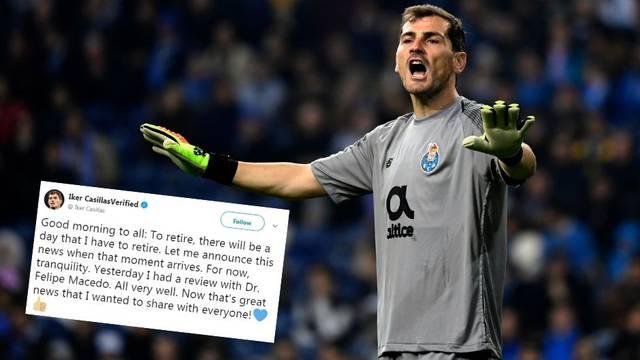 Iker demantirao Portugalce: Ma kakva mirovina, dobro sam!