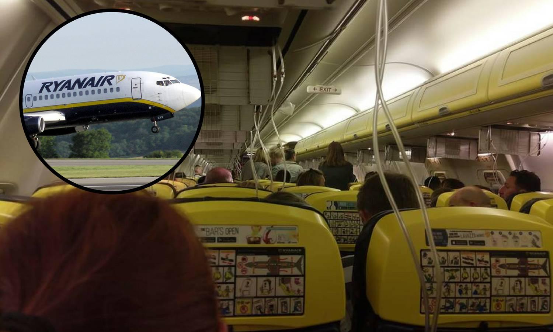 Drama u zraku: Avion Ryanaira prisilno sletio, 33 ljudi u bolnici