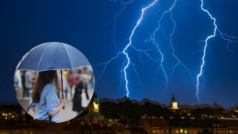 Zagreb pogodio ljetni pljusak