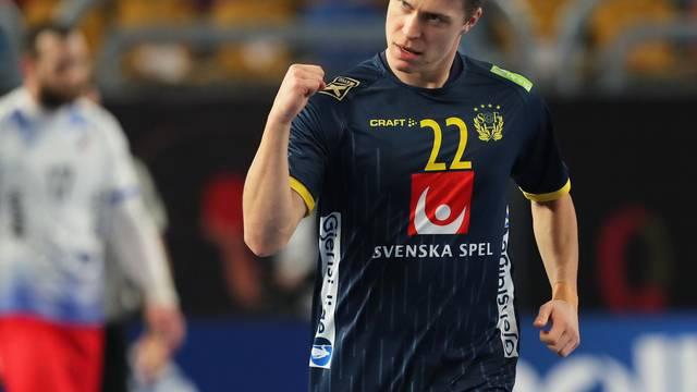 2021 IHF Handball World Championship - Main Round Group 4 - Russia v Sweden