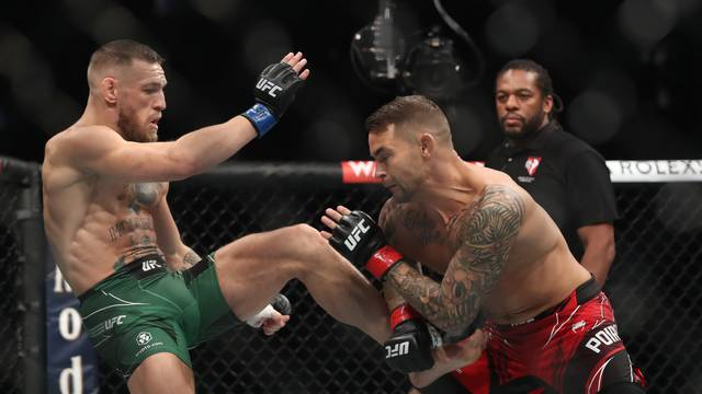 UFC264 - Dustin Poirier v Conor McGregor