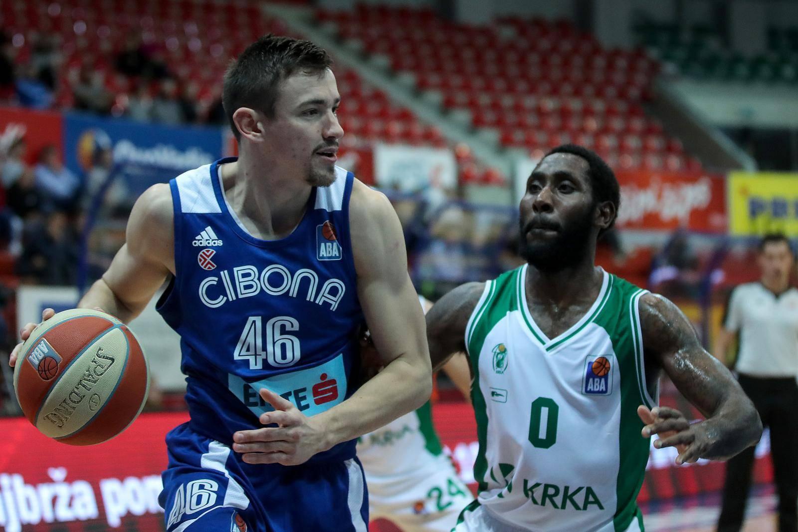 Zagreb: U ABA ligi susreli se KK Cibona i KK Krka