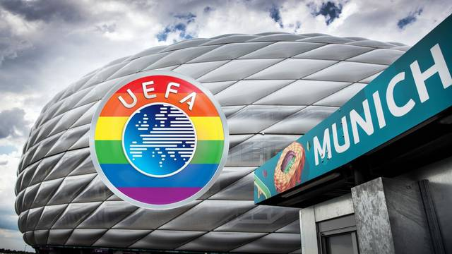 Uefa se opravdava: Dugine boje naš su ponos, ali nećete stadion osvijetliti njima. To je politika...