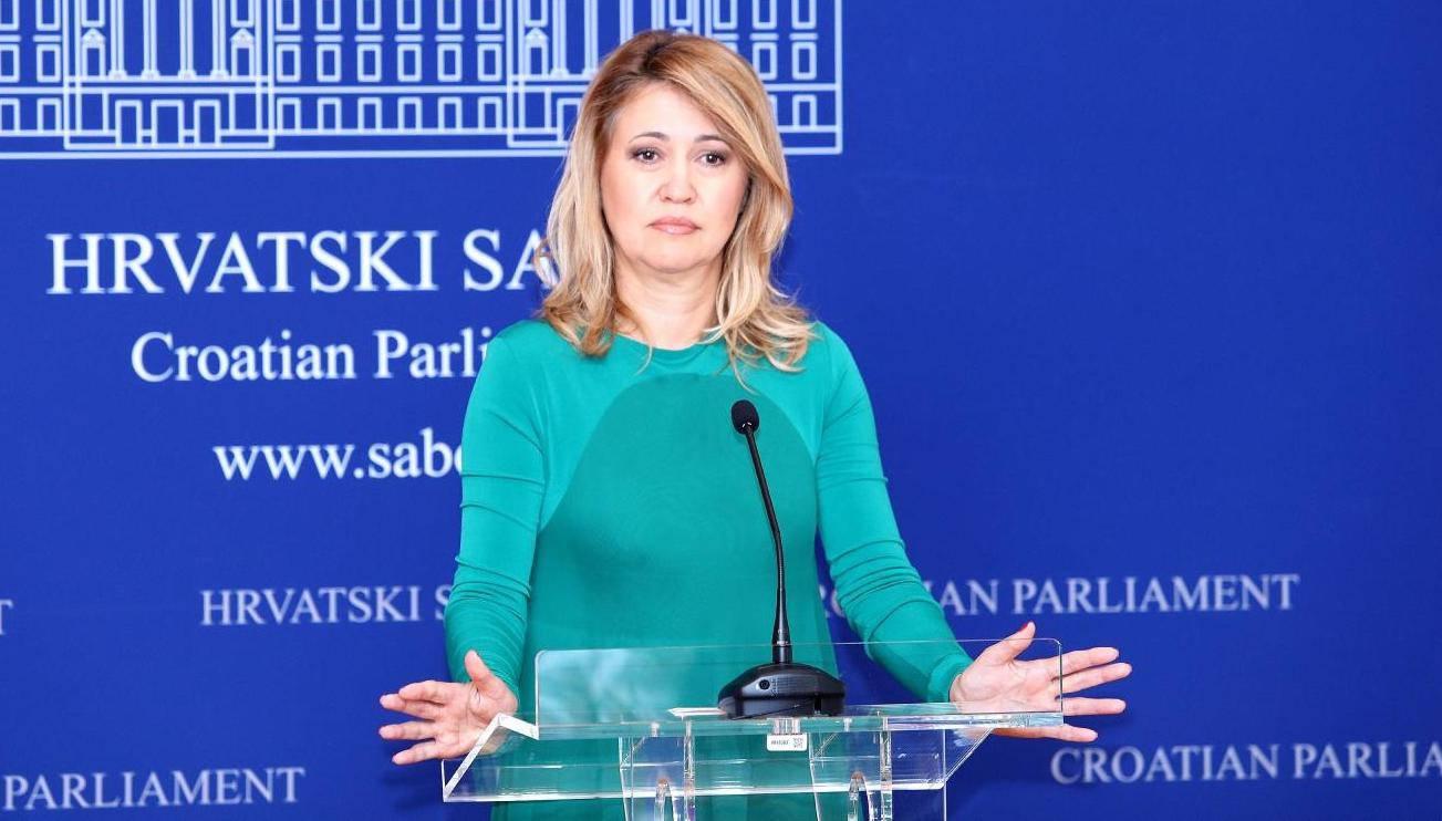 Zagreb: Milanka Opačić, novi član kluba zastupnika Stranke rada i solidanosti