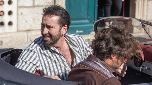 Set filma s Cageom i Pascalom danas se preselio U Cavtat