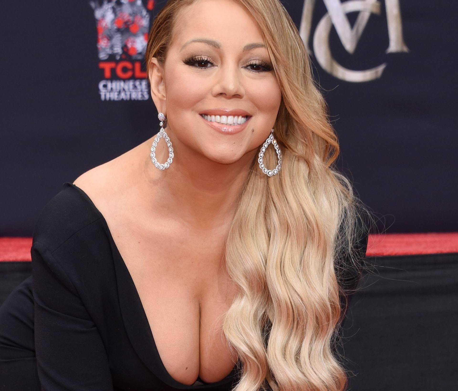 Mariah Carey Hand and Footprints Ceremony - Los Angeles