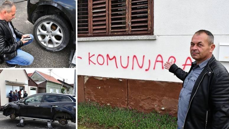 Petrik o grafitu na kući: Žalosno je ovo, to je potez očajnika, jer znaju da će u nedjelju izgubiti