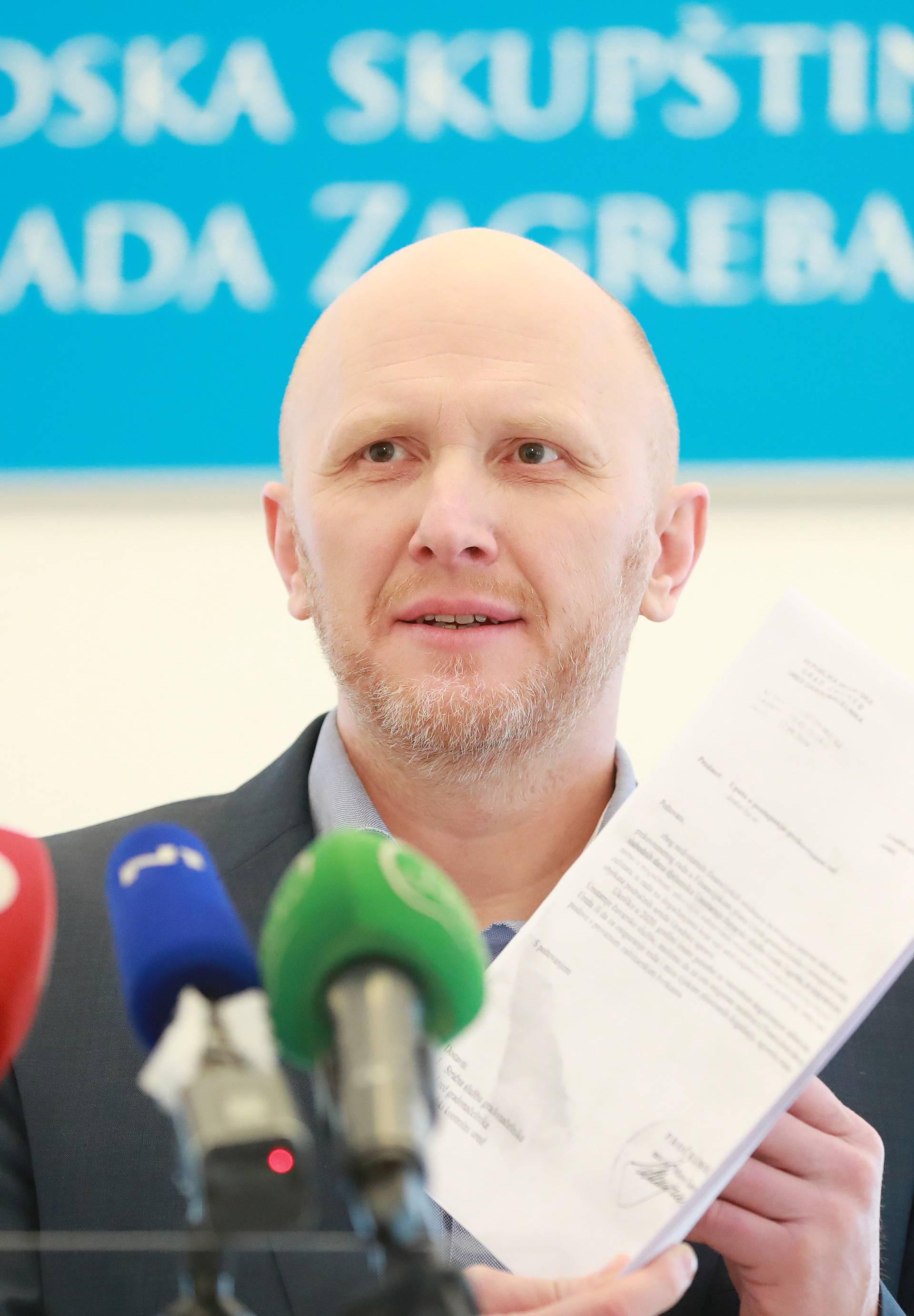 Zagreb: Renato Petek o poslovanju zaštitarske tvrke Bilić-Erić