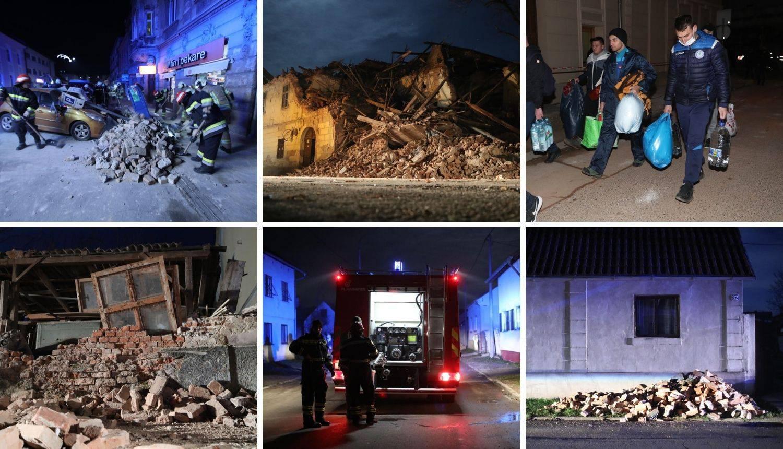 Uživo iz Petrinje: Poginulo je 7 ljudi, grad je u ruševinama... | 24sata