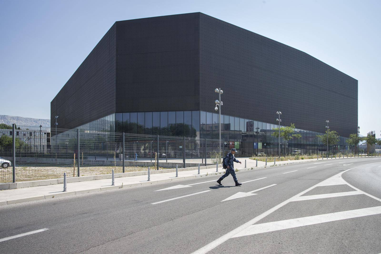 Arena u Splitu postaje bolnica: Ima mjesta za 1200 oboljelih