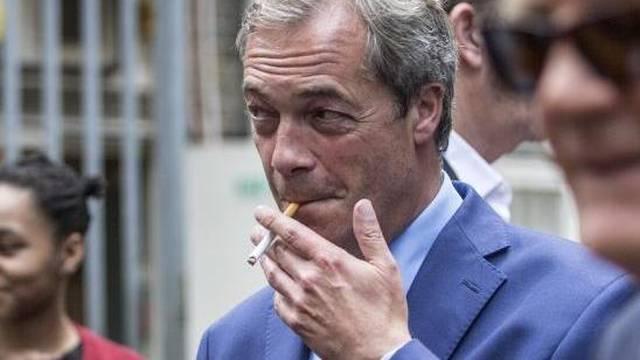UKIP leader Nigel Farage EU vote