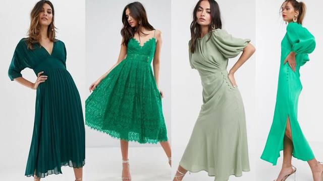 Nijanse zelene: Zen boja u chic izdanju za posebne trenutke