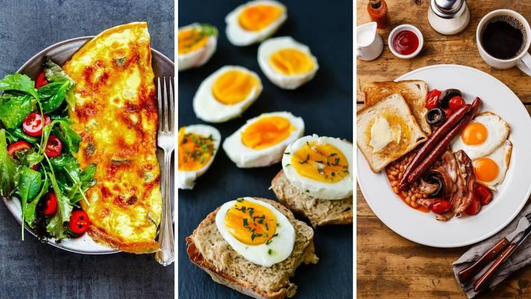 Za doručak i ručak: 4 recepta s jajima koji će vas oduševiti