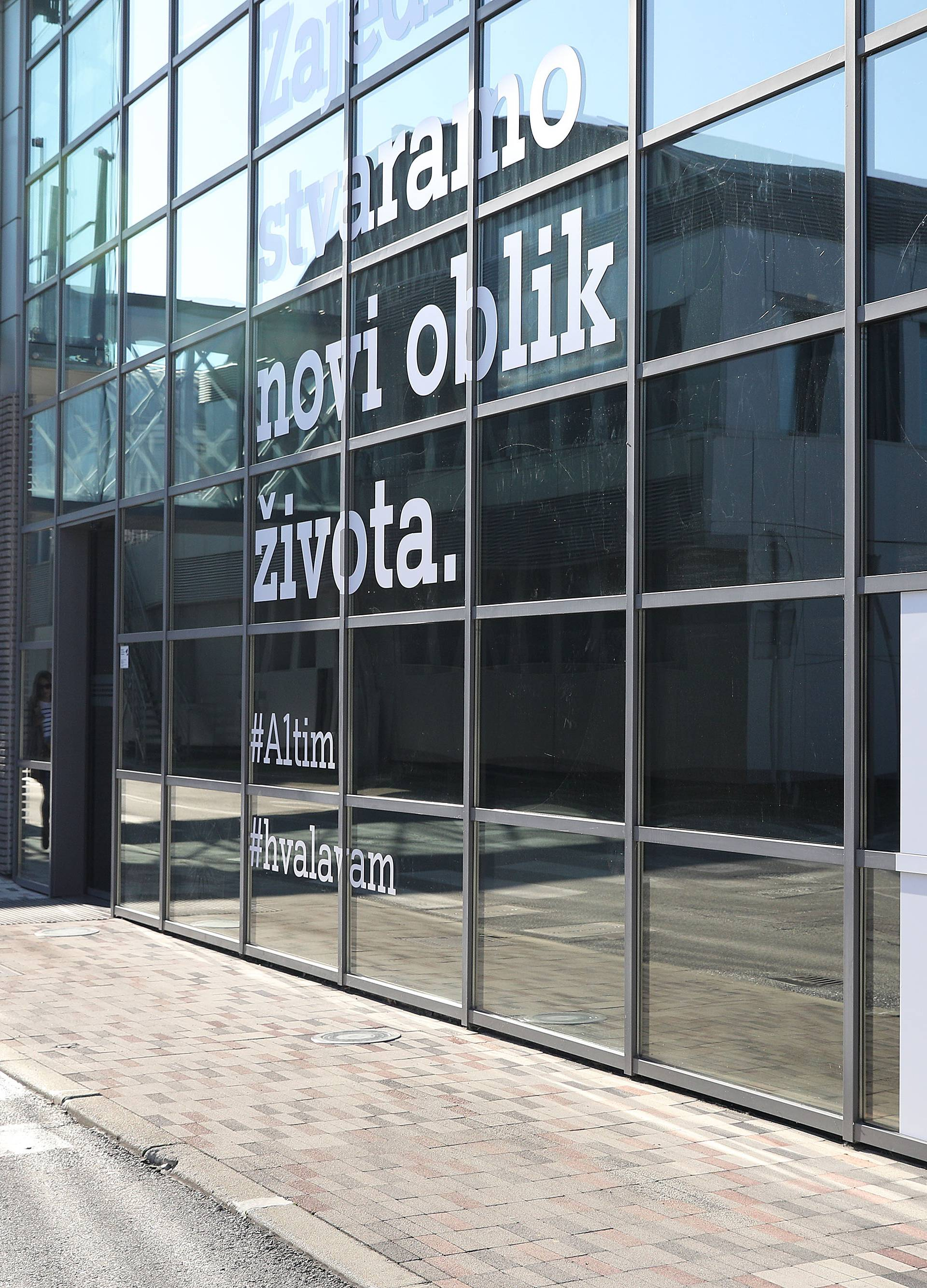 Zagreb: Zgrada A1 Hrvatska