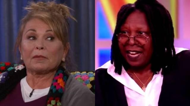 Whoopi i Roseanne se 'zaratile' zbog rasizma i slike Trumpa